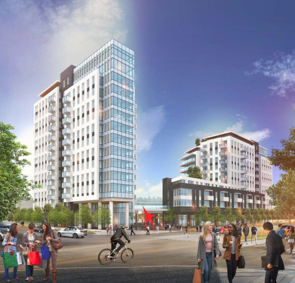 Two residential towers proposed for Park Royal South
