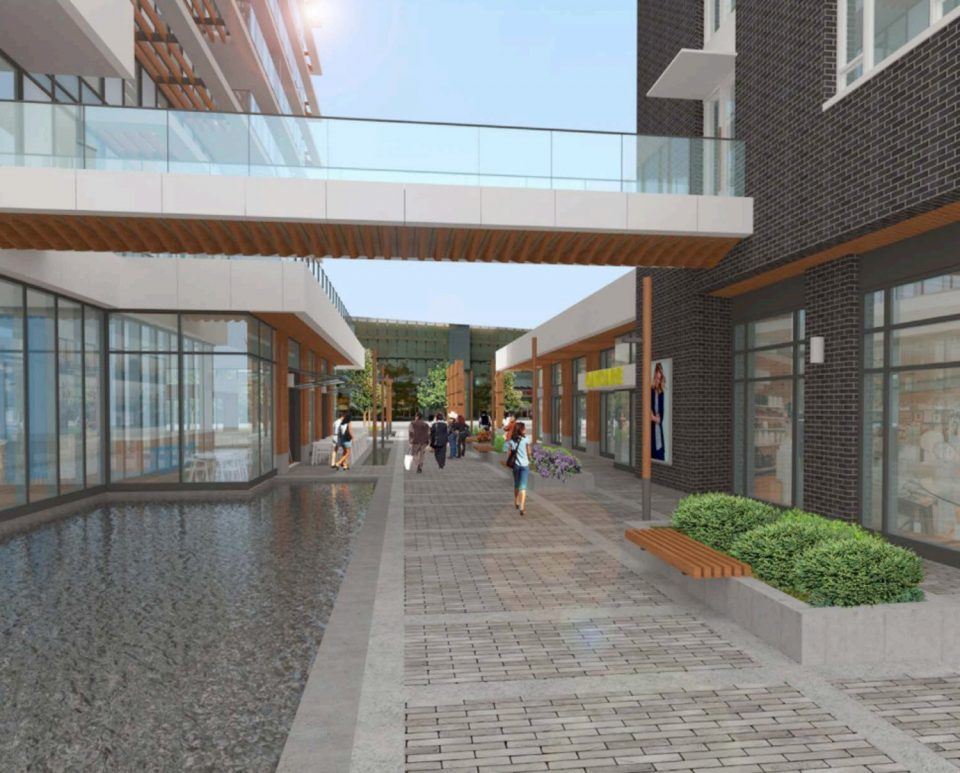 752 Marine Drive Park Royal West Vancouver redevelopment courtyard