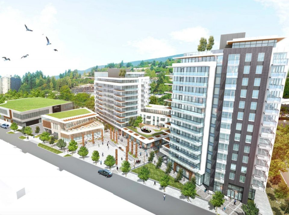 752 Marine Drive Park Royal West Vancouver redevelopment