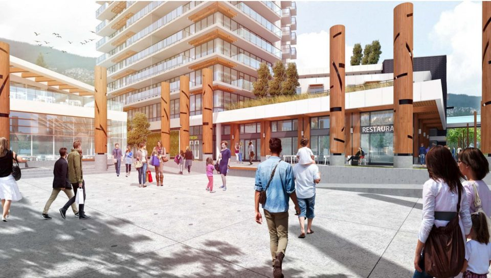 752 Marine Drive Park Royal West Vancouver redevelopment plaza
