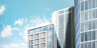 833 West Pender Executive Hotel building rendering
