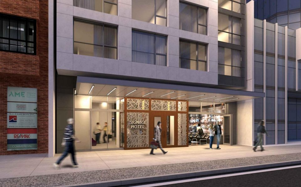 833 West Pender Executive Hotel lobby