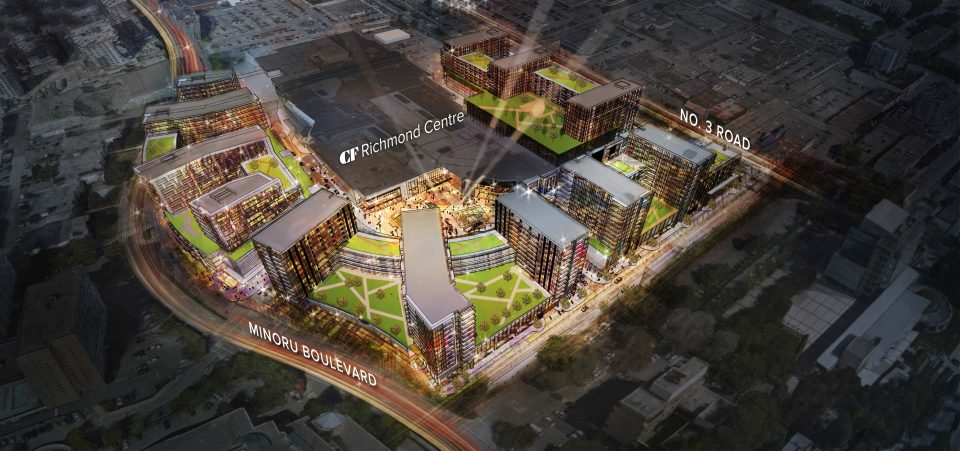 Richmond Centre mall revival: new homes, retail on the way