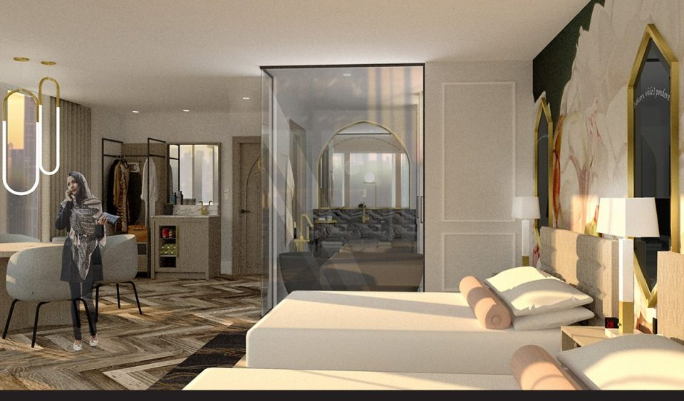 Exchange Hotel room