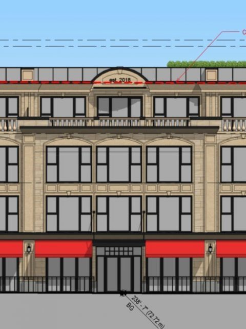 Boutique hotel proposed for top floor of new Kerrisdale building