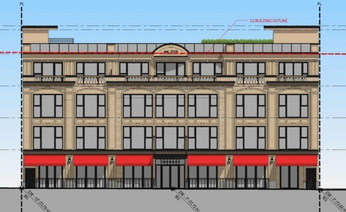 Kerrisdale hotel project rendering