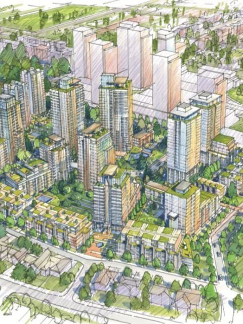 Langara Gardens redevelopment drawing