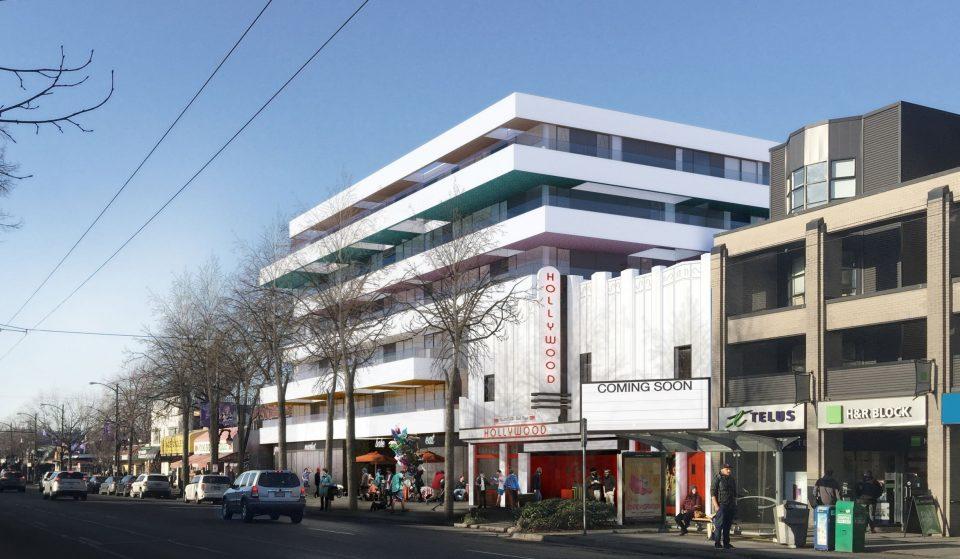 Condos may save the Hollywood Theatre in Kitsilano