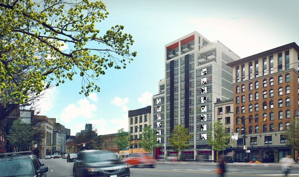 Olivia Skye affordable housing tower opens on East Hastings Street