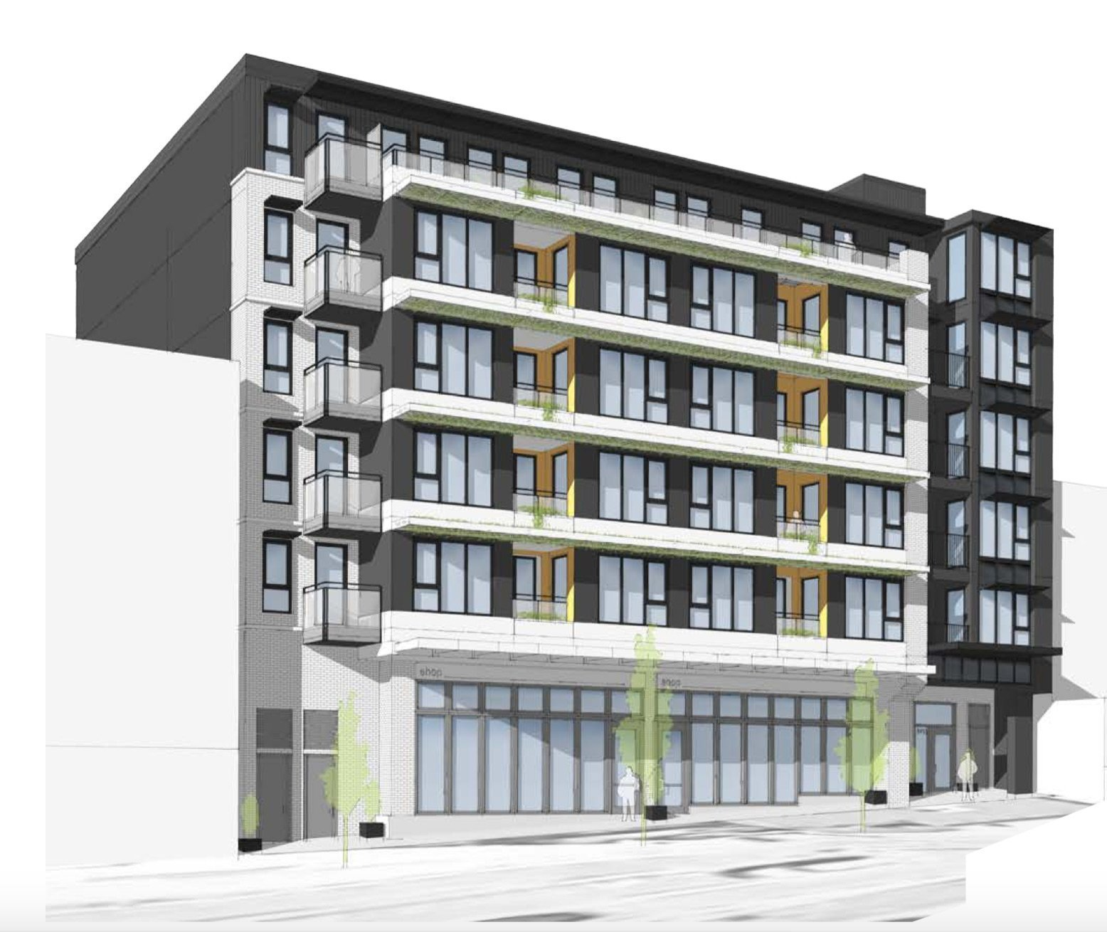 Apartment Rental: Passive House Rental Apartment Building Planned For East