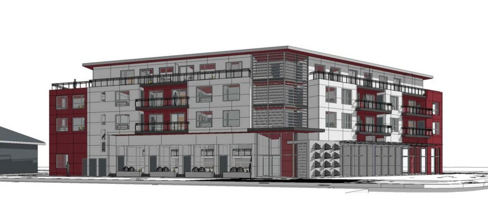 4506 Rupert Street rental apartments rendering