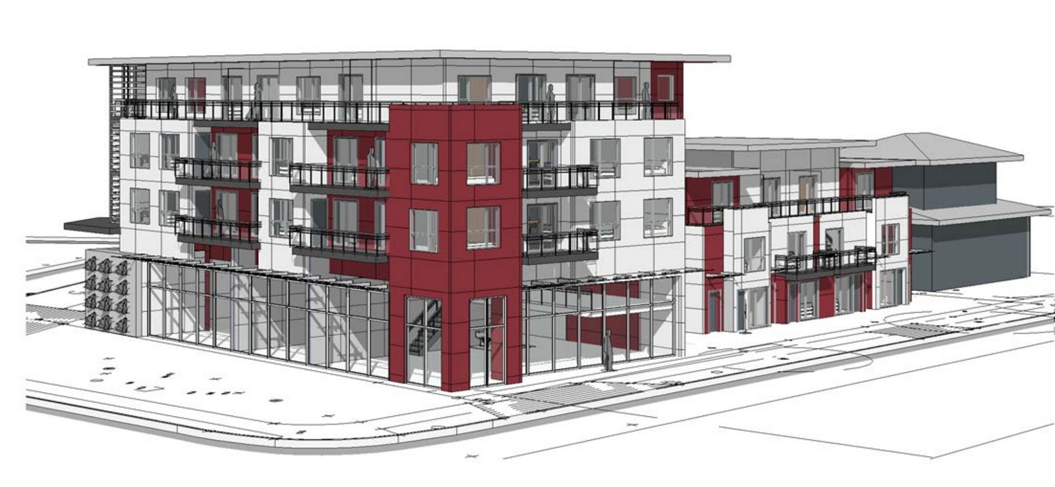 Rental apartments proposed for irregularly shaped East Vancouver site