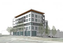 815-825 Commercial Drive and 1680 Adanac Street rendering