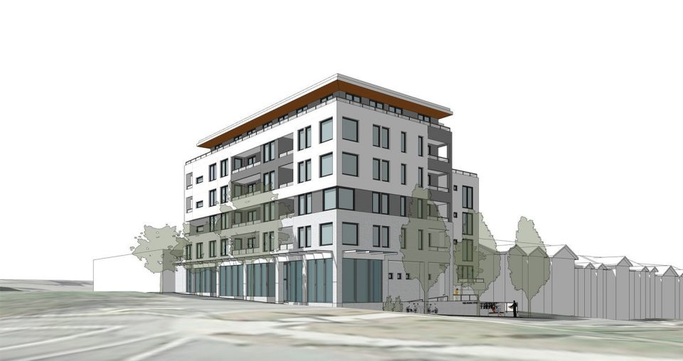 Rental apartments proposed for Commercial Drive and Adanac Street