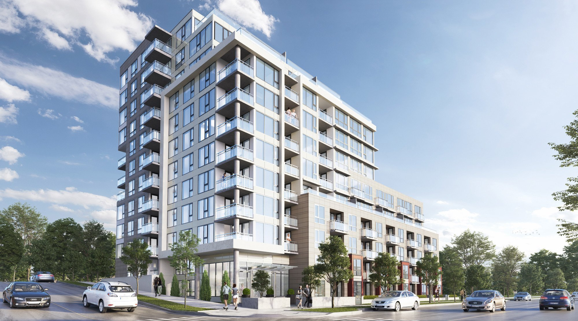 New purpose-built rental building, Art on 6th by Austeville Properties, opens this summer