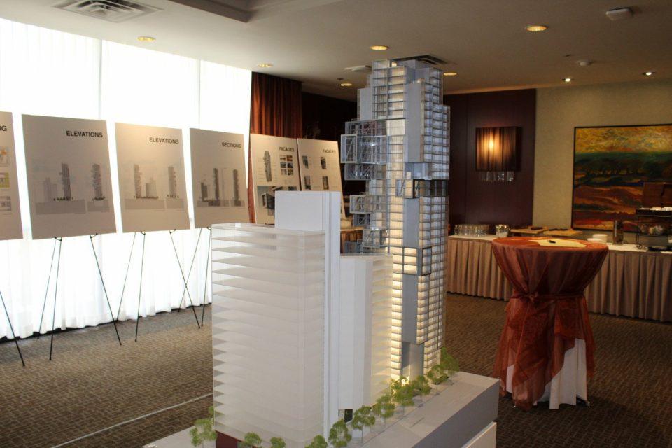 Bosa tower 1515 Alberni Street model