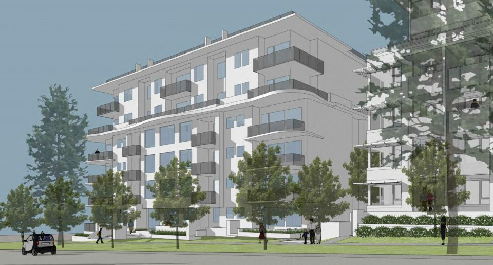 Cambie and King Edward condos rendering