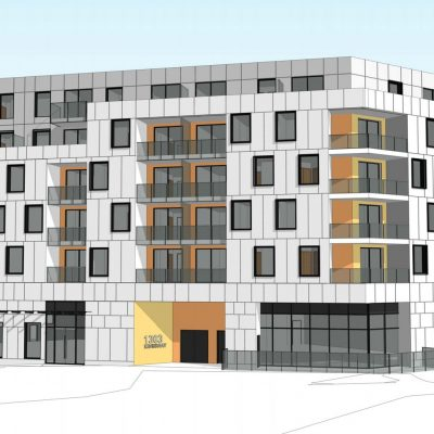 Kingsway and Clark Dr. rental apartments frontage