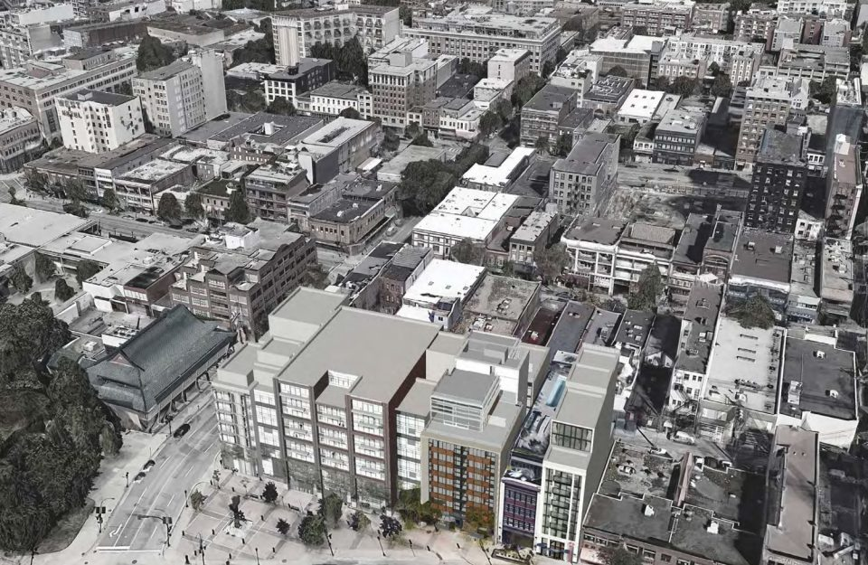 129 Keefer rendering context