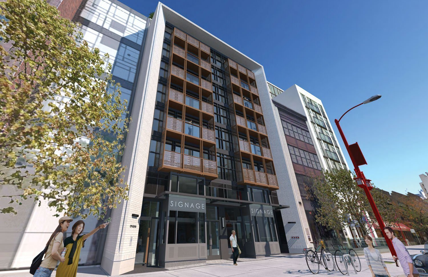 Slim condo building proposed next to Keefer Bar in Chinatown