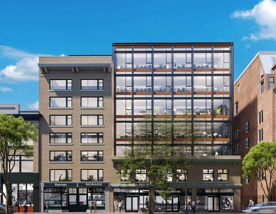Modern office space proposed for 155 Water Street in Gastown