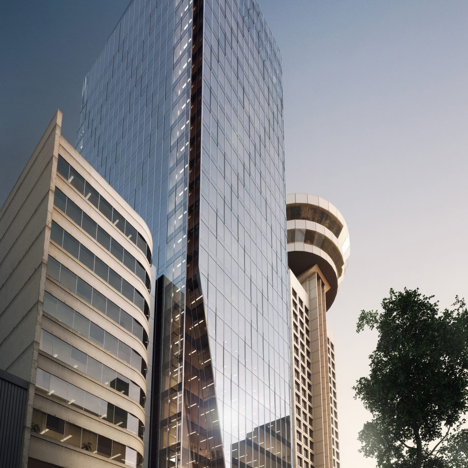 601 West Hastings tower rendering B+H Architects
