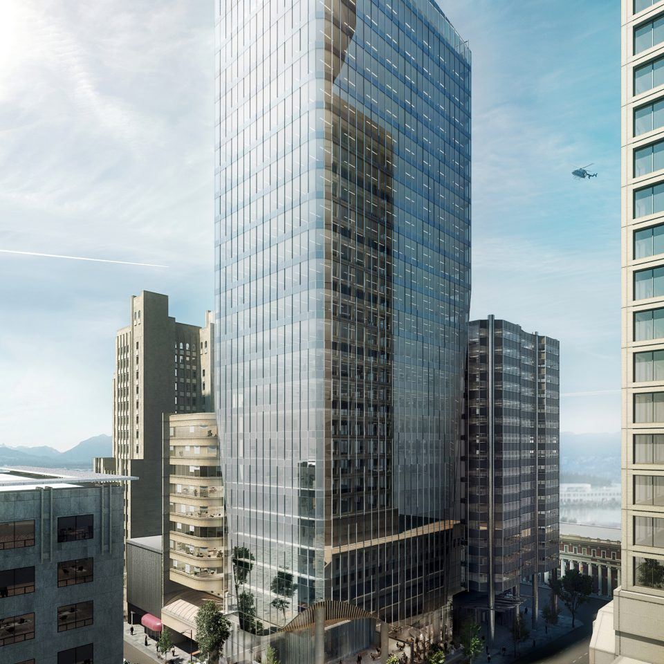 601 West Hastings tower rendering