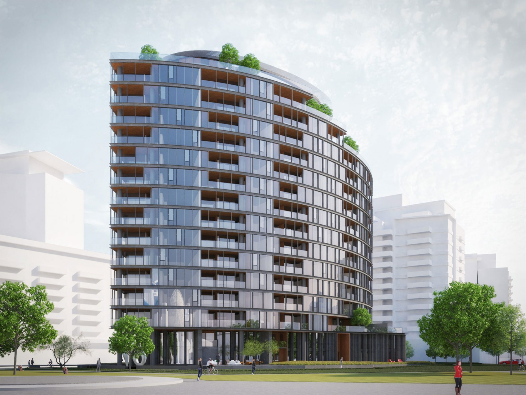 Final tower of The Creek by Concert Properties revealed