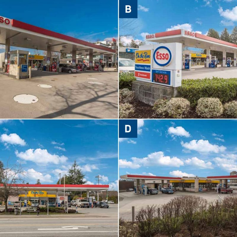 Vancouver Esso stations for sale