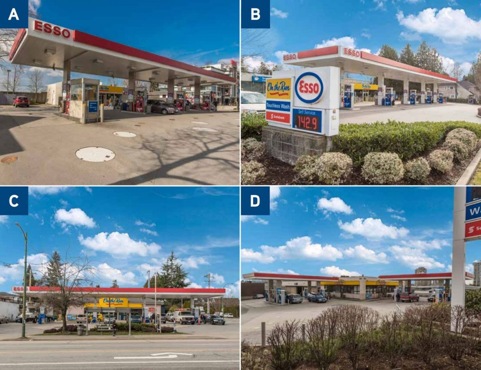 Running out of gas: Four more Vancouver-area Esso stations up for sale