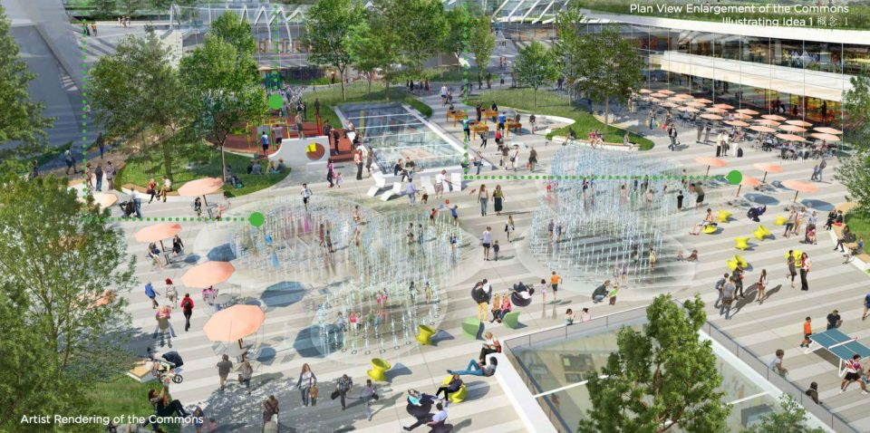 Oakridge Commons rendering