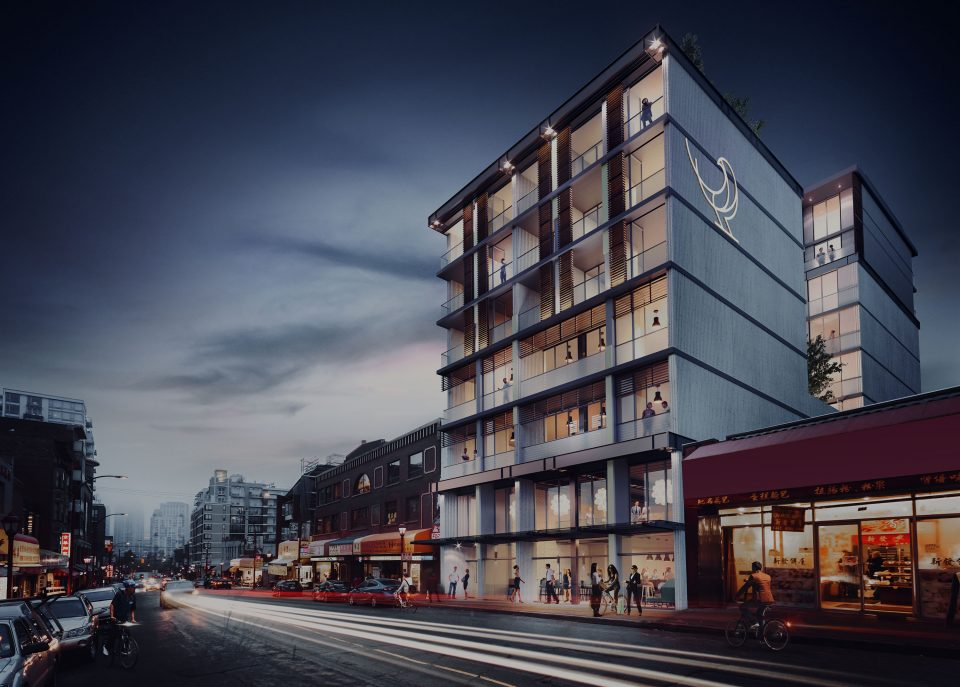 Sparrow Chinatown rendering