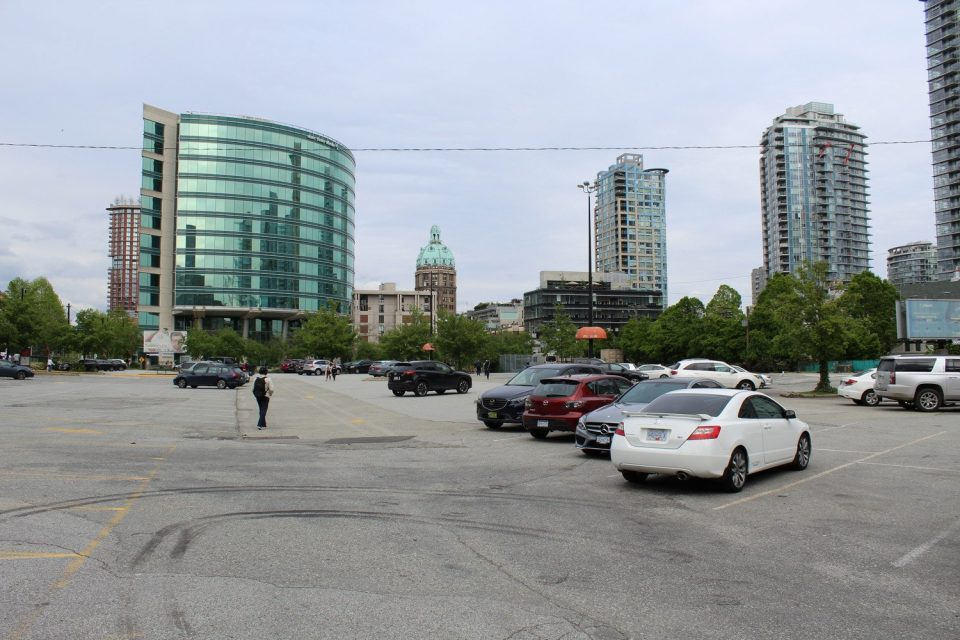 EasyPark lot Cambie Street