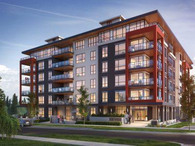 Mass timber condo apartment building