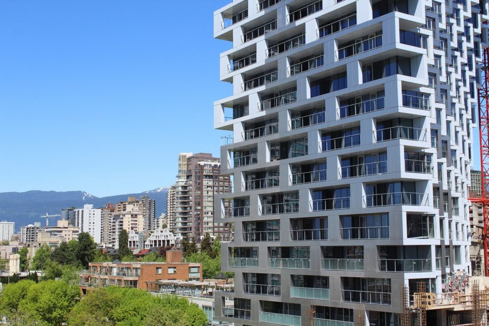 Vancouver House construction photos May 2018
