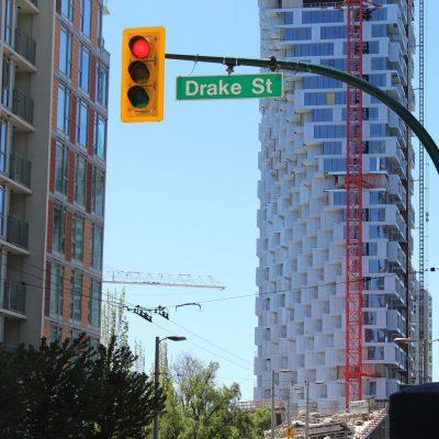 Vancouver House construction progress May 2018