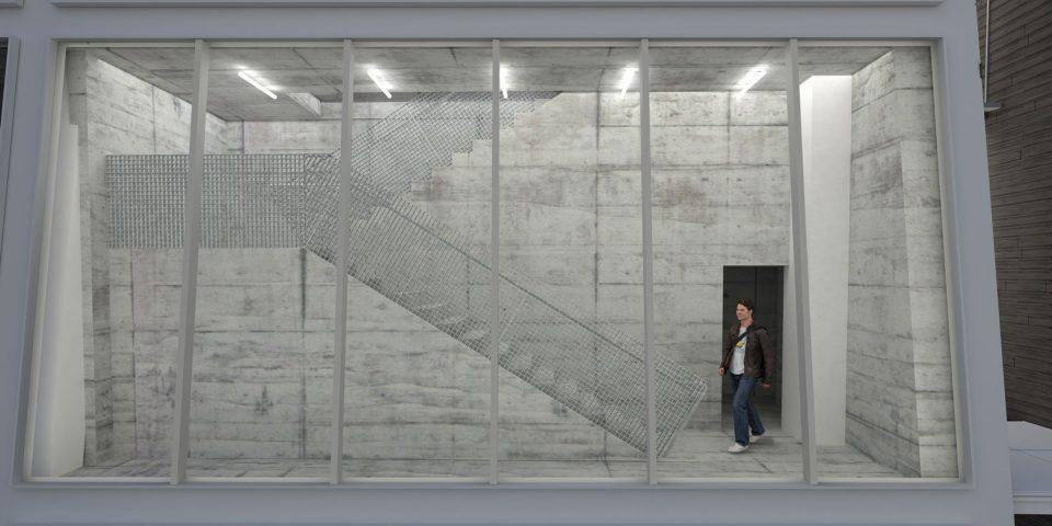 Stair egress