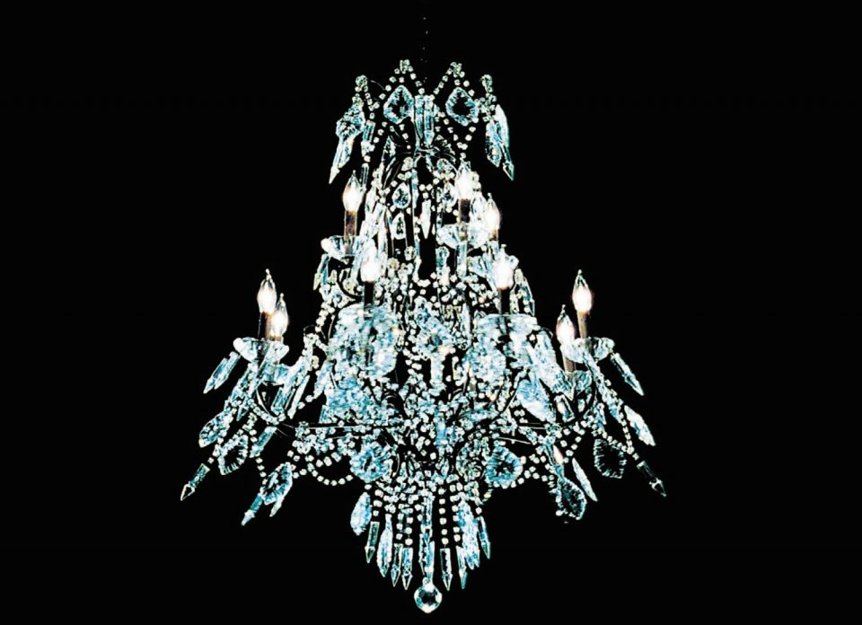 Westbank Vancouver House chandelier public art