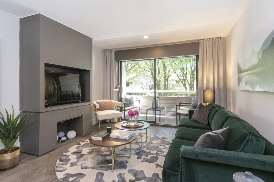 Vintage South Granville condo reimagined in dramatic renovation