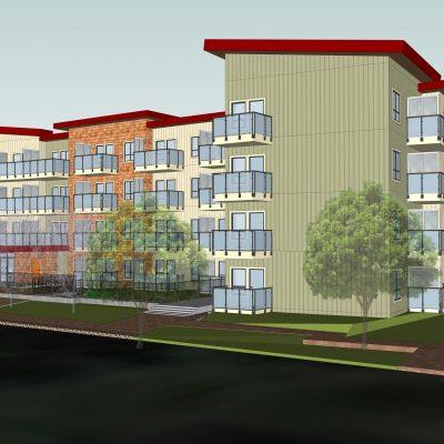 7561 140th St Indigenous Housing Surrey rendering