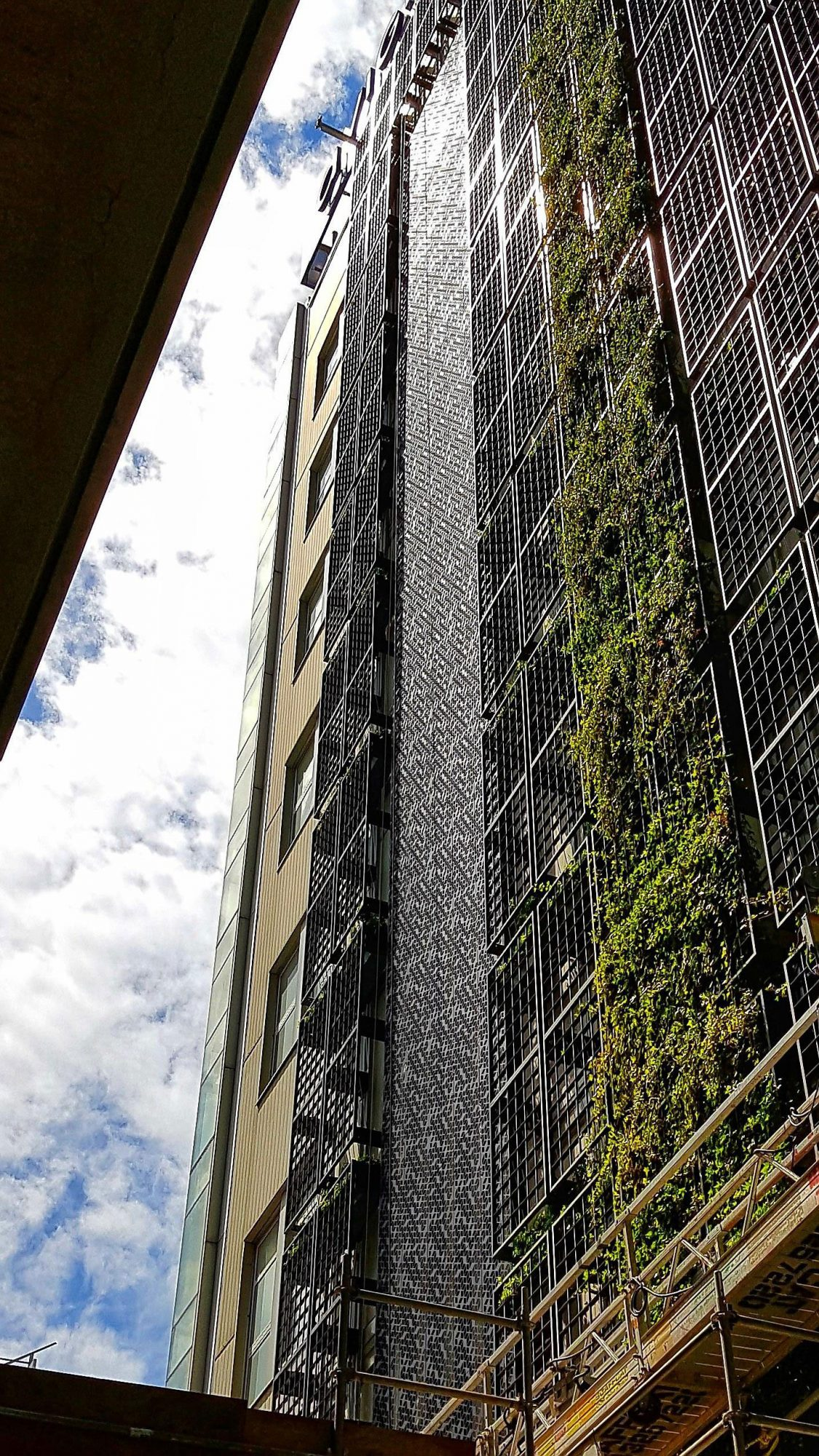 Innovative Arktura panels help cover up 'green wall gaps' at Telus Garden