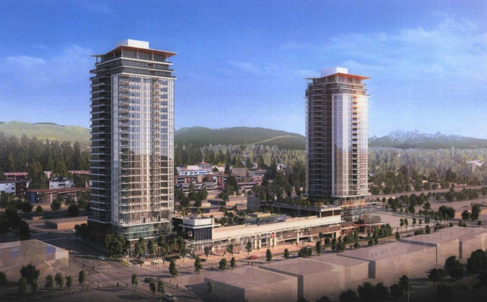 Towers to bookend Austin Heights Safeway in Coquitlam