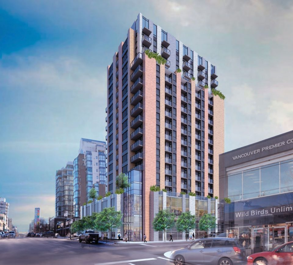 Rental apartment tower coming to site of West Broadway Denny's