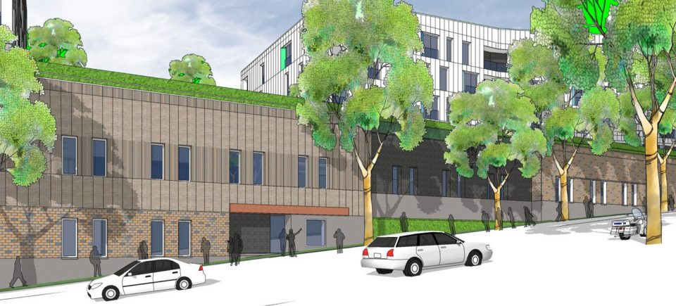 East 1st and Clark Detox Centre BC Housing rendering 2