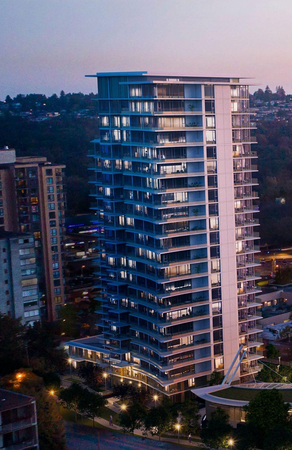 Hensley by Cressey rental tower rendering