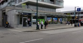 New bike parking opens at King Edward Canada Line station
