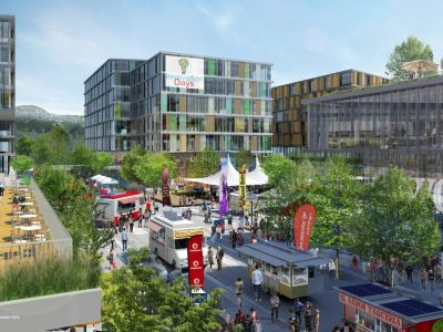 North Shore Innovation District rendering