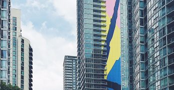 Public art adds splash of colour to Vancouver skyline