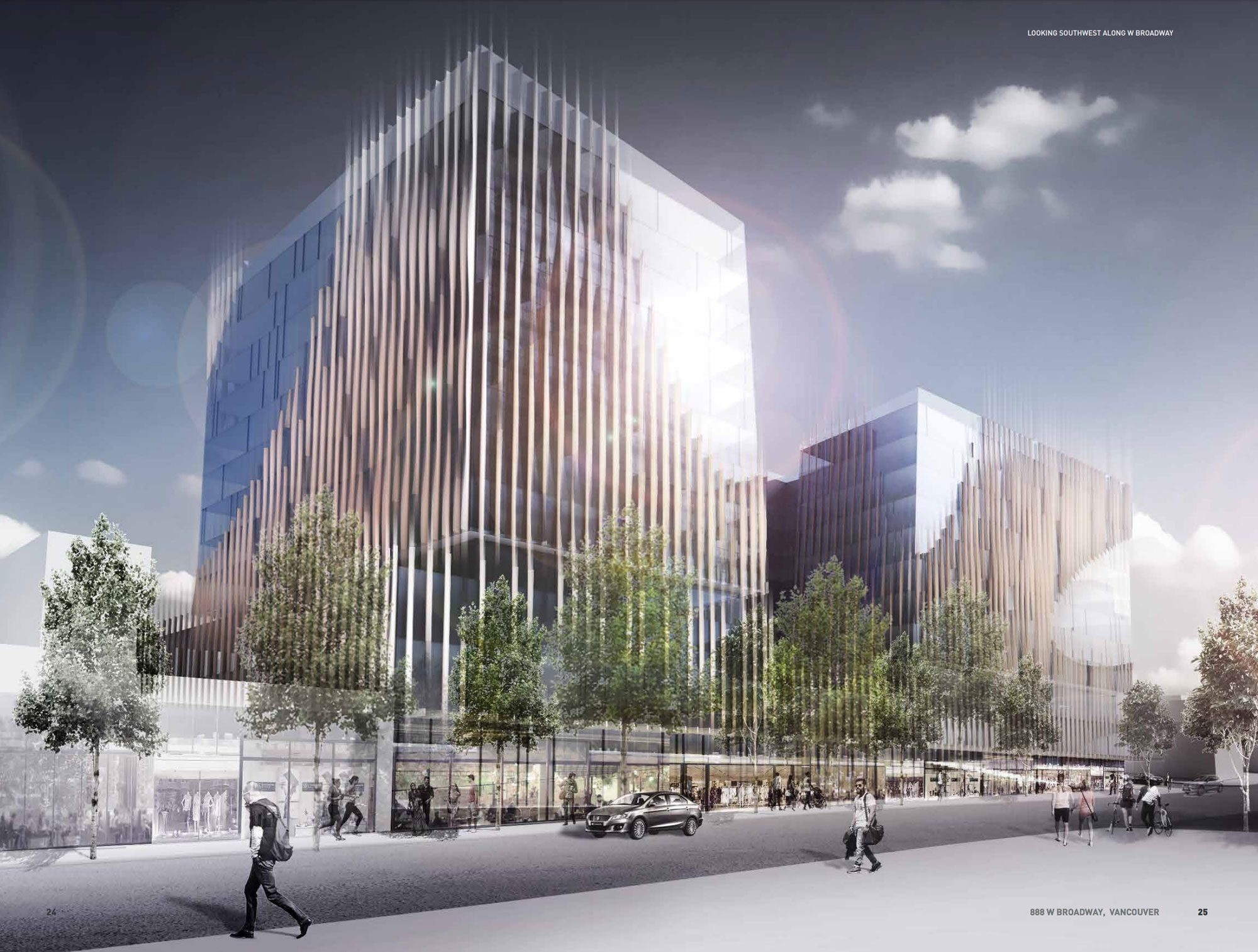 888 West Broadway to replace Park Inn