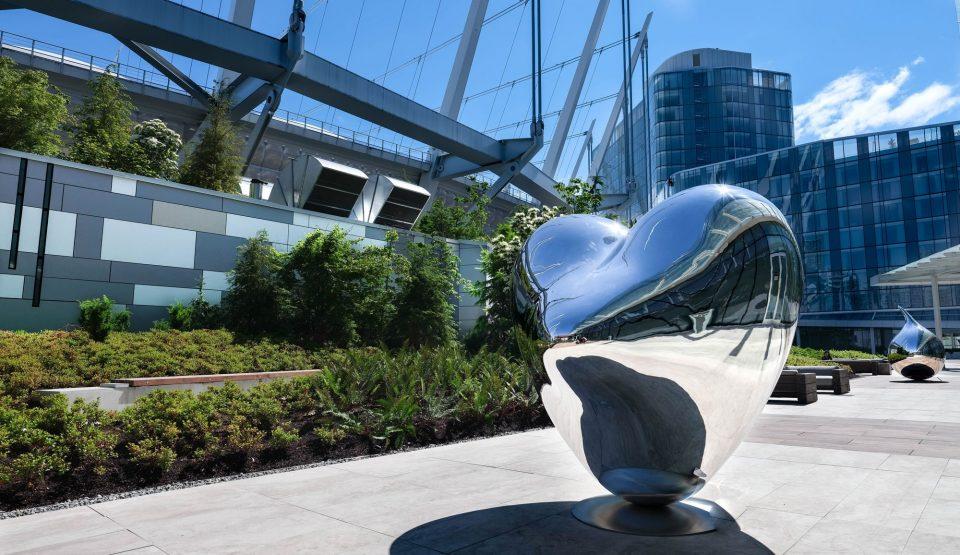 Parq Vancouver art heart